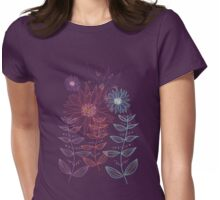 Dainty Garden Womens Fitted T-Shirt