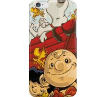 snoopy charlie iPhone Case/Skin