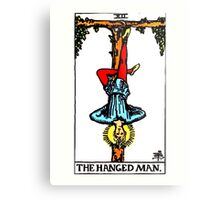 The Hanged Man Tarot Card  Metal Print