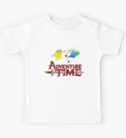 adventure time high Kids Tee