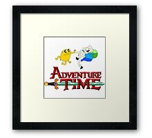 adventure time high Framed Print