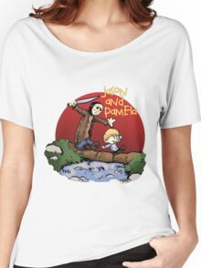 calvin and hobbes meets jason Women's Relaxed Fit T-Shirt