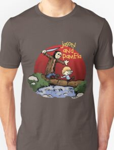 calvin and hobbes meets jason Unisex T-Shirt