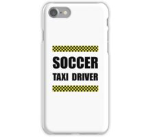Soccer Taxi Driver iPhone Case/Skin