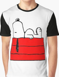 sleeping snoopy huft Graphic T-Shirt
