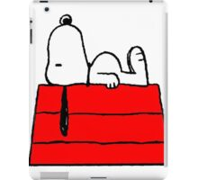 sleeping snoopy huft iPad Case/Skin