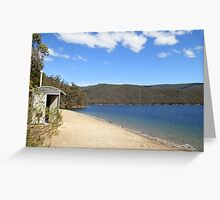 Snowy Mountains Scheme Dam Dunny, via Tumut NSW Greeting Card