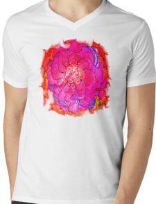 Vibrations of Happiness Mens V-Neck T-Shirt