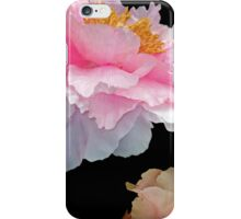Pas de Deux Glowing Peonies iPhone Case/Skin