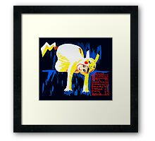Characterized Framed Print