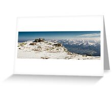 Lone Cabin in Pyrenees Greeting Card