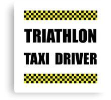 Triathlon Taxi Driver Canvas Print