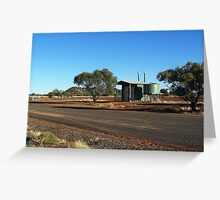 Poddy Creek Rest Stop Dunny, Queensland Greeting Card