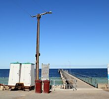 Temporary Dunny at Wool Bay, South Australia by RedNomadOZ