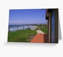 Port Fairy Dunny, Victoria Greeting Card