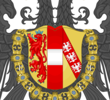 Imperial Coat of Arms of the Austrian Empire Sticker