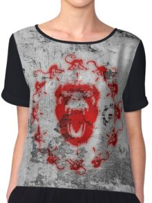 Army of the 12 Monkeys - Billboard Chiffon Top