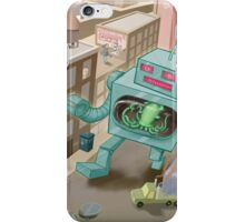 Robot vs. Squid iPhone Case/Skin