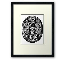 Sir Rabbit Framed Print