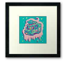 I Scream Truck Framed Print