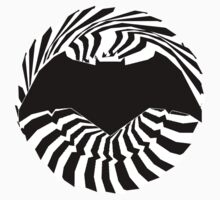 Batman New Logo - Noir Spiral 2 by Konecthor