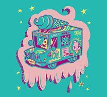 I Scream Truck by Nate Bear