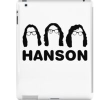 Hanson - The Slap Shot ones. iPad Case/Skin