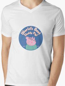 Daddy 2 Mens V-Neck T-Shirt