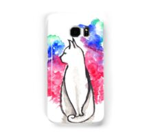 Cat in Space Samsung Galaxy Case/Skin