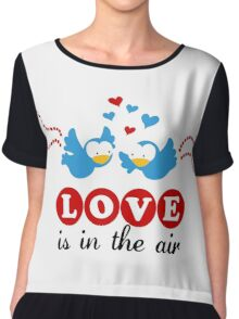Love Is In The Air Chiffon Top