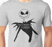 Halloweentown is Coming-Black Unisex T-Shirt