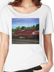 On The Other Side Of The Tracks Women's Relaxed Fit T-Shirt