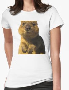 Funny Quokka Womens Fitted T-Shirt