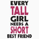 (TALL GIRL - SHORT GIRL) BFF by cerenimo