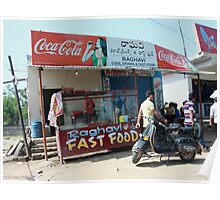 Raghavi's Fast Food and Cool Drinks Poster