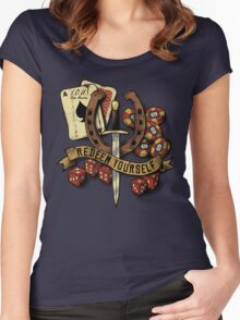 Redeem Yourself Women's Fitted Scoop T-Shirt