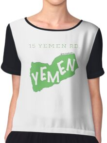 15 Yemen Road Yemen - Friends Chiffon Top