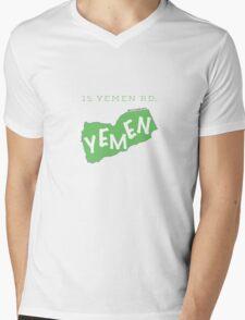 15 Yemen Road Yemen - Friends Mens V-Neck T-Shirt