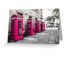 Pink Box London Greeting Card