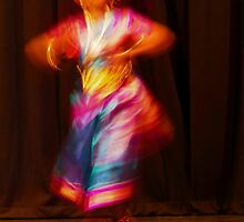 The Colours of Indian dance  by PictureNZ