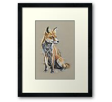 Out-foxed Framed Print