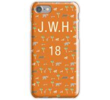 Pattern JWH 18 Darjeeling Limited & Hotel Chevalier iPhone Case/Skin