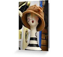 shopgirl Greeting Card