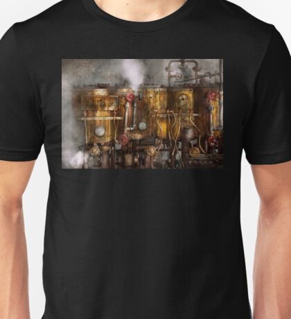 Steampunk - Plumbing - Distilation apparatus  Unisex T-Shirt