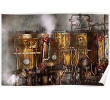 Steampunk - Plumbing - Distilation apparatus  Poster
