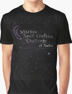 Witches Spell Crafting Challenge of Salem  Graphic T-Shirt