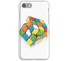 Wet Rubik's Cube iPhone Case/Skin