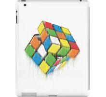 Wet Rubik's Cube iPad Case/Skin