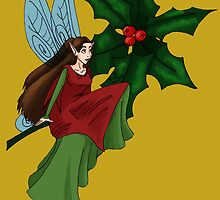 Holly Fairy by Wickabee