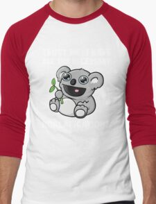 Trust Me, I Have All The Necessary Koalafications Men's Baseball ¾ T-Shirt